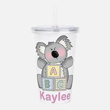 Kaylee's Sweet Koala Acrylic Double-wall Tumbler