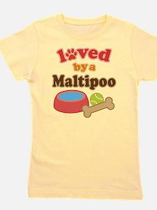 Maltipoo Dog Gif T-Shirt