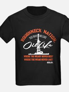 OIL LIFE OILFIELD Or. T-Shirt