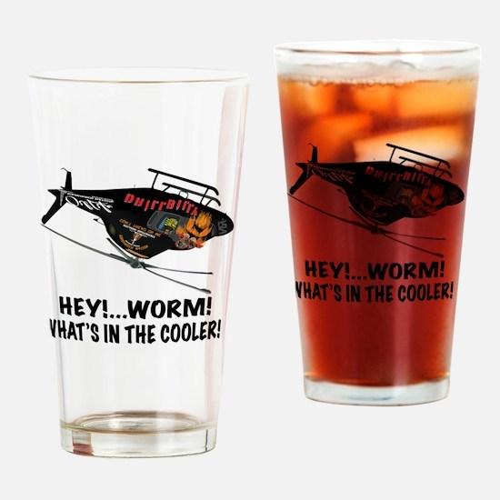 DRILLBILLY OVER 2 Drinking Glass