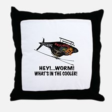 DRILLBILLY OVER 2 Throw Pillow
