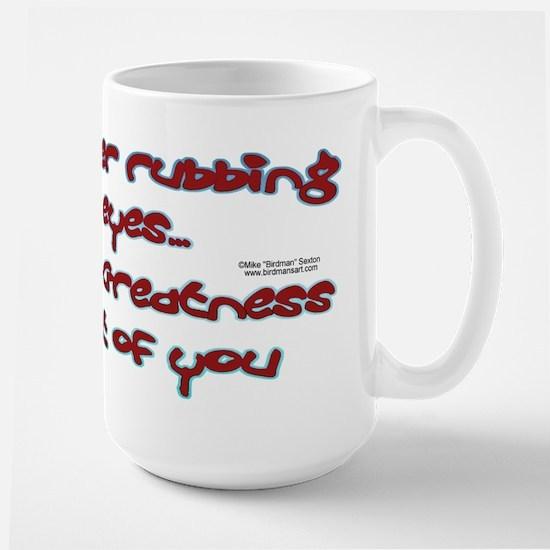 Greatness Large Mug