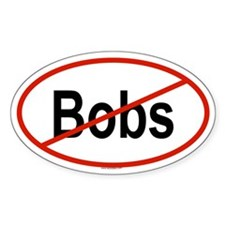 BOBS Oval Decal