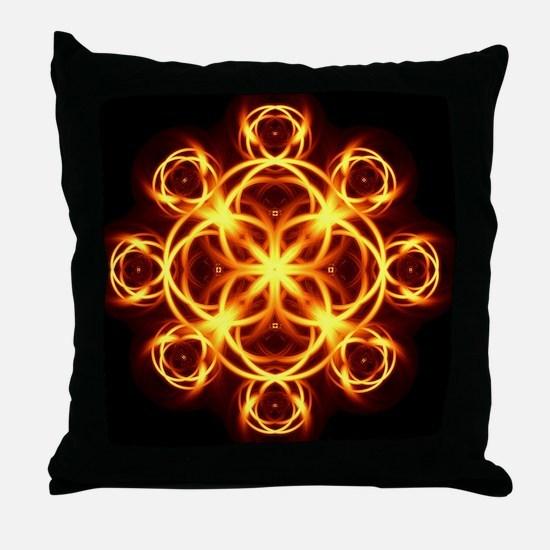 Unique Healer Throw Pillow