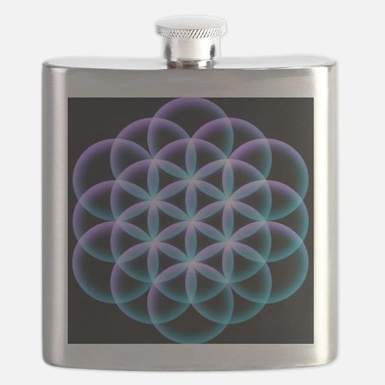 Unique Psychedelic Flask
