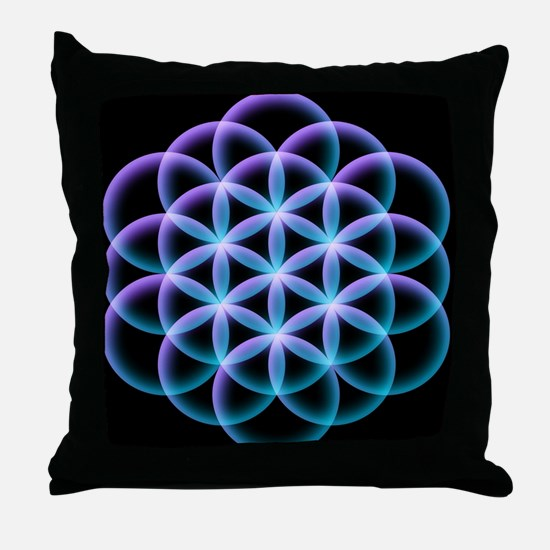 Cool Psychedelic Throw Pillow