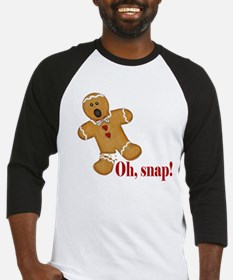 Oh Snap! Gingerbread Man Baseball Jersey