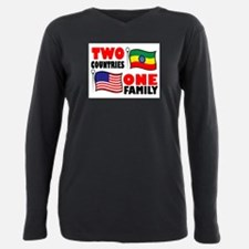 Two Countries/One Family T-Shirt