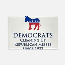 Democrats Cleaning Magnets