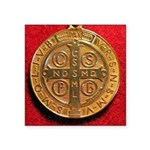 Medal Of St. Benedict Sticker