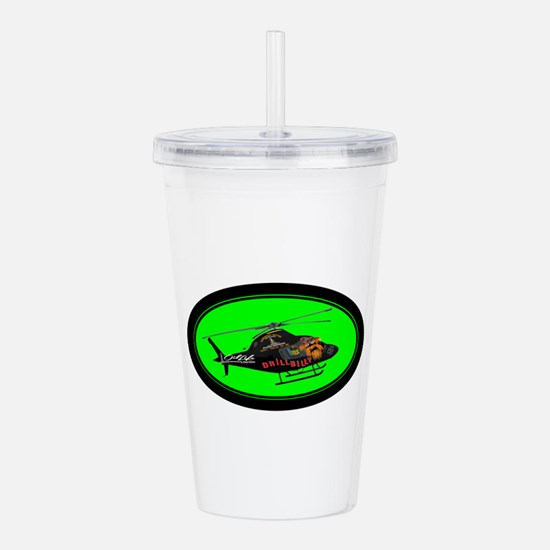 DRILLBILLY COPTER Acrylic Double-wall Tumbler