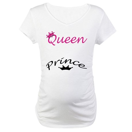 Queen and Prince Maternity T-Shirt