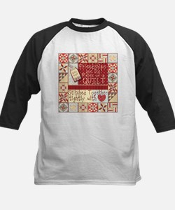 Quilting Friendships Baseball Jersey
