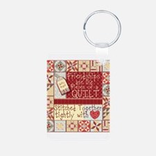Quilting Friendships Keychains