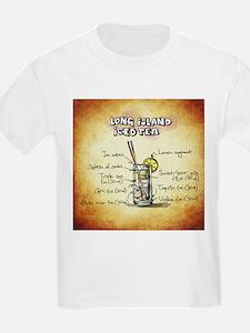 Long Island Iced Tea (Brown) T-Shirt