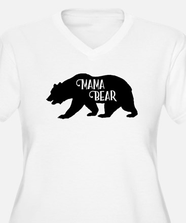 Mama Bear - Family Collection Plus Size T-Shirt