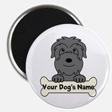 Personalized Black Russian Magnet