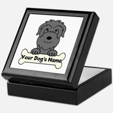 Personalized Black Russian Keepsake Box