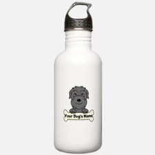 Personalized Black Rus Water Bottle