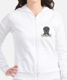 Personalized Black Russian Fitted Hoodie