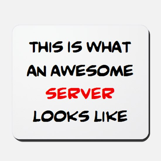 awesome server Mousepad