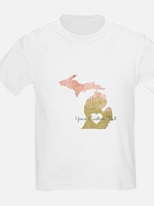 Personalized Michigan State T-Shirt