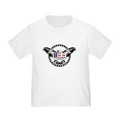 God Bless American Eagle Toddler T-Shirt