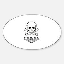 poison patrol bones Decal