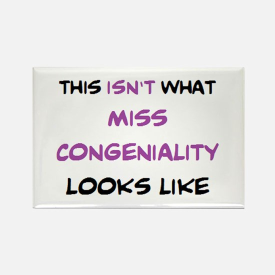 not miss congeniality Rectangle Magnet