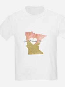 Personalized Minnesota State T-Shirt