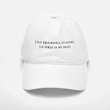 I Play Harmonica To Silence T Cap
