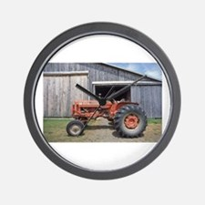 Barn Door Was Open Wall Clock