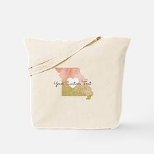 Personalized Missouri State Tote Bag