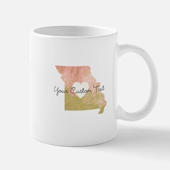 Personalized Missouri State Mugs