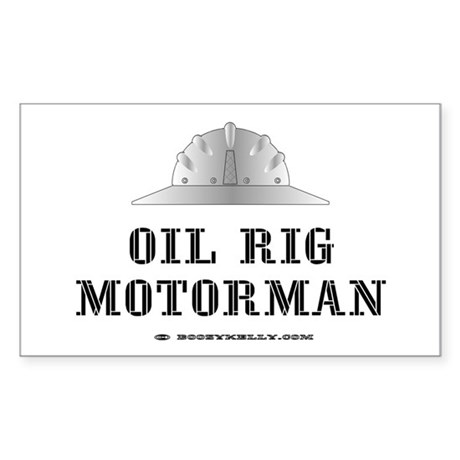 Motorman Rectangle Sticker