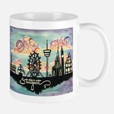 Stuttgart Skyline Mugs