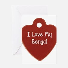 Love Bengal Greeting Cards