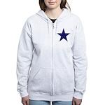 Super Star Women's Zip Hoodie Sweatshirt