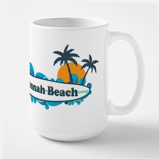 Savannah Beach GA - Surf Design. Mugs