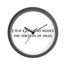 I Play Guitar To Silence The Wall Clock