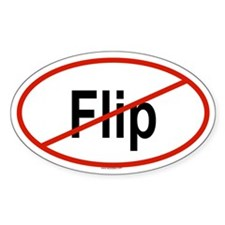 FLIP Oval Decal