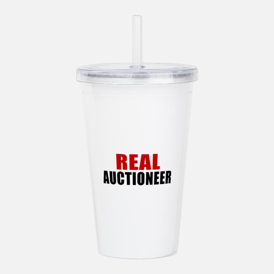 Real Auctioneer Acrylic Double-wall Tumbler