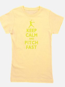 Personalized Keep Calm Baseball T-Shirt
