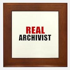 Real Archivist Framed Tile