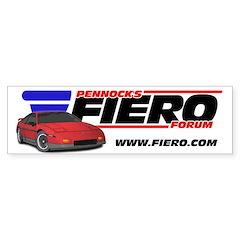 PFF Bumper Sticker - Maroon/Grey