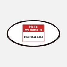 Custom Name Tag Patch
