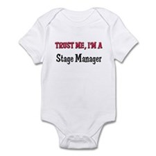 Trust Me I'm a Stage Manager Infant Bodysuit