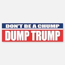 Dump Trump Bumper Bumper Bumper Sticker