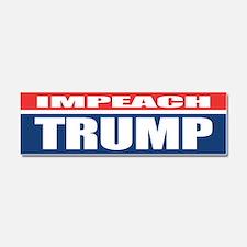 Impeach Trump Car Magnet 10 x 3