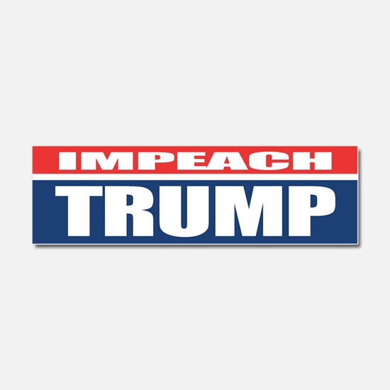 Impeach Trump Car Magnet 10 x 3